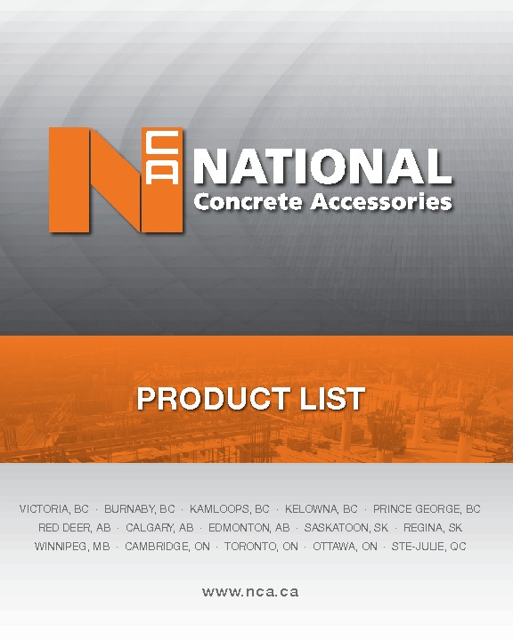 NATIONAL PRODUCT LIST