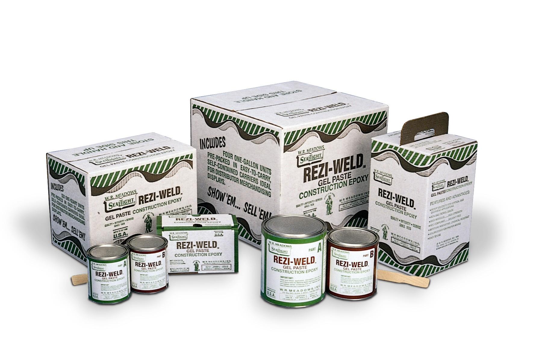 Rezi Weld Epoxy : Rezi weld gel paste qrt northland construction supplies