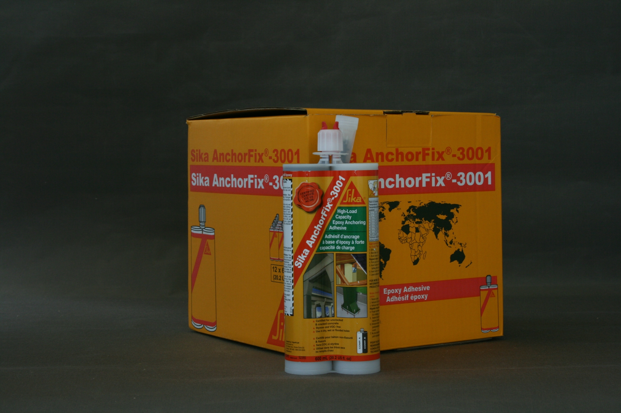 SIKA ANCHORFIX 3001 600ML (20 OZ) CART | NCA