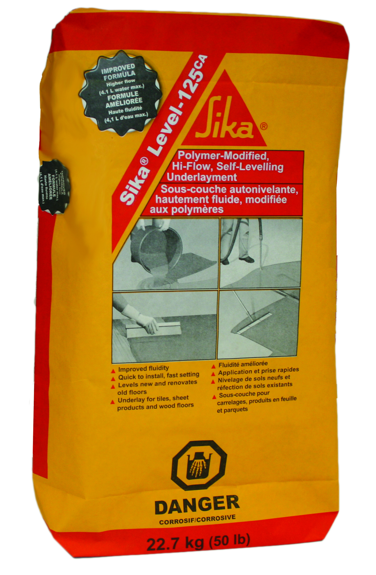 Underlayment, Self-Levelling, Sika Level-125CA, 22 7kg | NCA