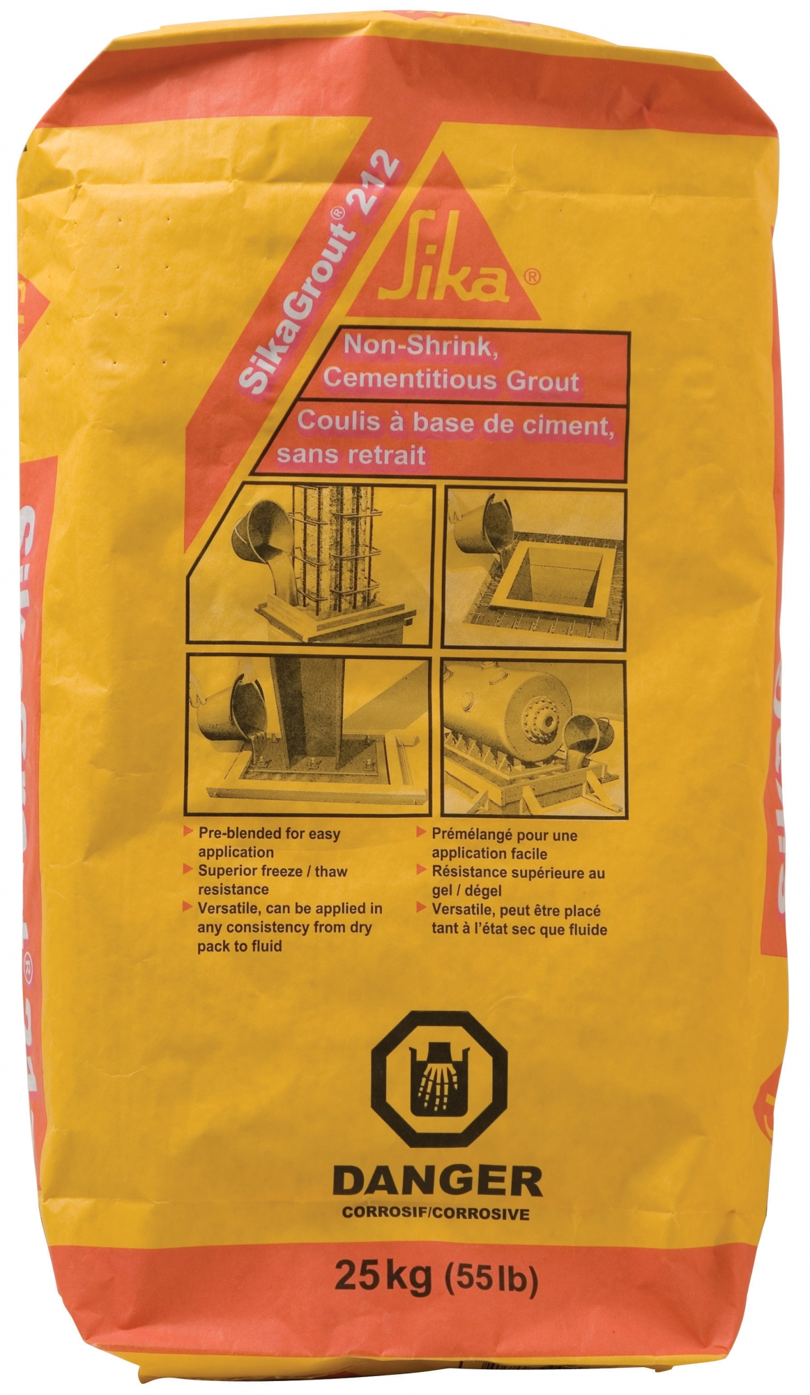 Non-Shrink Grout - SIKA 212 | NCA