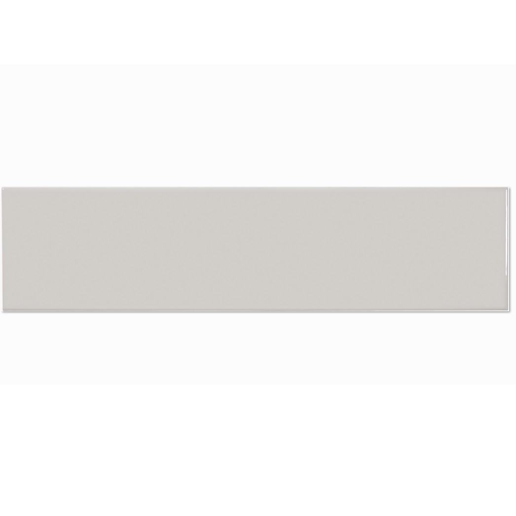 Tile Soho Warm Grey Glossy Wall 4x16 10 76 Sf Box Nca