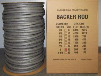 3 8 Quot X 2100 Standard Closed Cell Backer Rod Nca
