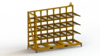 Multiform rack one sided
