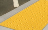 ACCESS TILE Cast in Place - 1' x 1' - FEDERAL YELLOW