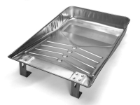 Shallow Well Metal Tray